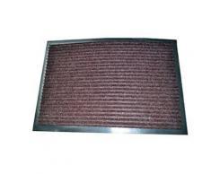 Tapis antidérapant classique en polypropylène 50 x 80 cm Marron - Accessoires de bain