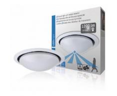LED's Light SHA-00800503 Plafonnier Led avec Capteur 15 W Blanc - Équipements et sécurité pour la maison