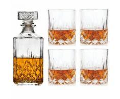 Service À Whisky Avec Carafe À Whisky Et 4 Verres - Autres