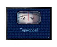 Humour Paillasson Essuie-Pieds - Top Moppel Pèse-Personnes, Pour Lui (50x70 cm) - Tapis et paillasson