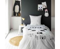 Parure de lit enfant Cool Panda 140x200 - Today - Linge de lit