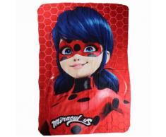 Plaid polaire Ladybug couverture enfant Disney mod2 - Textile séjour