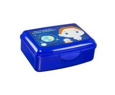 Boite à gouter - Lunch box + gourde 550 ml - Bleu foncé - Objet à poser