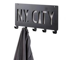 Patere A Fixer Ny City 5 Crochets - Objet à poser