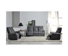 Salon complet Relax électrique - SCOUT - L 200 x l 91 x H 106 - Tables salle à manger