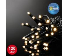 Guirlande lumineuse de noël 12 metres dorée 120 led cod5eex547ww - Objet à poser