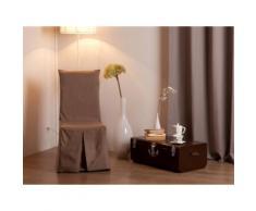 Housse de chaise bachette 100% coton INES - Textile séjour