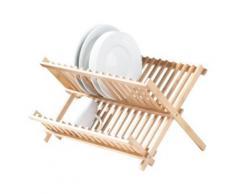 Égouttoir à Vaisselle en Bambou Pliable - Ustensiles