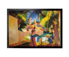 August Macke Paillasson Essuie-Pieds - Enfants À La Fontaine, 1914 (50x70 cm) - Tapis et paillasson