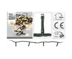 Eclairage LED 320 lampes blanc chaud intérieur / extérieur - Objet à poser