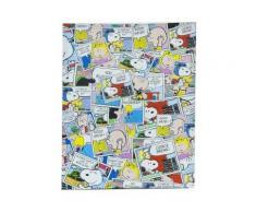Toile imprimée - BD multicolore - Tableau Snoopy - Décoration murale