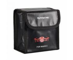 Protecteur de batterie LiPo antidéflagrant, étui protection, rangement pour sac DJI Mavic 2 Pro, zoom RC849 - Accessoires pour drones