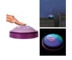 Lampe Veilleuse Push Enfant Bébé - Change de couleur - Violet - Ampoules à LEDs