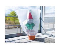 Housse d'hivernage décorative 110 x 120 cm - Nain de jardin - Objet à poser