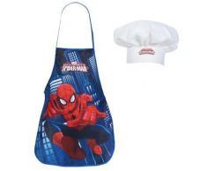 Set petit cuisinier tablier et toque Marvel Spiderman - Rideaux et stores