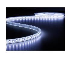 Flexible à led - blanc froid 25000k - 600 leds - 5 m - 24 v velleman lq24w150cw10 - Appliques et spots