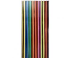 Rideau à lanière de 24 mm noir et multicolore - Fenêtres et volets