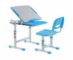 Paris prix - bureau & chaise enfant 'comfortline' 66cm bleu - Bureaux