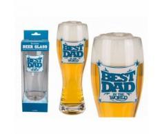Grand Verre A Biere Best Dad In The World Fete Des Peres Anniversaire - Autres