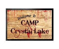 Vendredi 13 Paillasson Essuie-Pieds - Welcome To Camp Crystal Lake (40x60 cm) - Tapis et paillasson