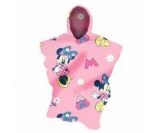 Disney Minnie Mouse - Couverture poncho en polaire - Fille (70cm x 160cm) (Rose) - UTMS322 - Linge de lit