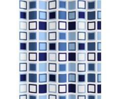 Kleine Wolke 5209723305 Clipper Rideau de Douche Bleu 180 x 200 cm - Accessoires salles de bain et WC