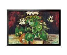 Vincent Van Gogh Paillasson Essuie-Pieds - Géranium Dans Un Pot De Fleurs, 1886 (60x40 cm) - Tapis et paillasson