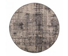 Tapis Catania Gris gris diamètre 160 cm Winkler - Tapis et paillasson