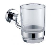 Porte-verre à brosses à dents en laiton - Accessoires de bain