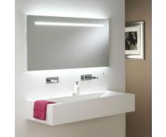 Astro Lighting - Miroir éclairant salle de bain Flair 1250 - IP44 - Miroir