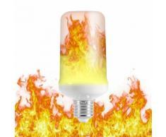 LED lampe à effet de flamme E27 base 3 mode scintillement pour Halloween Maison Bar Décoration fête LD1467 - Équipements électriques pour luminaire