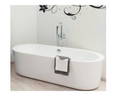 Baignoire îlot monobloc acrylique Biarritz - Installations salles de bain