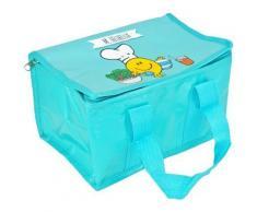 Lunch Bag Enfant Sac Repas Isotherme Mr Et Mme Heureux Bleu - Autres