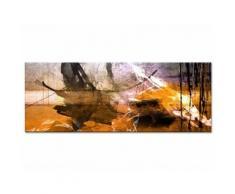 Tableau toile peinture art abstrait TÂCHES DE COULEURS - Décoration murale