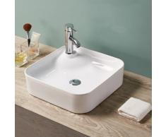 Vasque à Poser Carrée, 43x43 cm, Céramique, Urban - Installations salles de bain