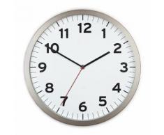 Horloge murale silencieuse en métal UMBRA Blanc - Décoration murale