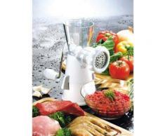 Mini Hachoir Manuel à viande plastique blanc * - Ustensiles