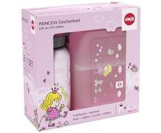 Emsa 516165 pour enfant kids gourde et boîte repas variabolo 16 x 11 x 7 cm-princess - Accessoires de rangement