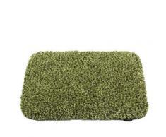 Tapis de bain classique à poils longs en Polyester 50 x 80 cm Vert - Accessoires de bain