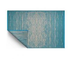 Tapis intérieur extérieur Brooklyn bleu indigo 180 x 120 cm - Tapis et paillasson