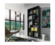 Étagère bibliothèque,horizontal/vertical.Noir - Bibliothèques