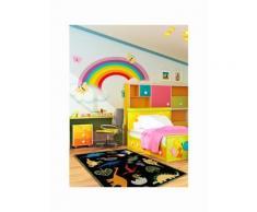 Tapis moelleux pour chambre d'enfant DINOS Tapis Enfants par Lil Mo 90 x 150 cm - Tapis et paillasson