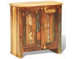 Cabinet Vintage Multicolore 2 Portes - Caissons et casiers de bureau