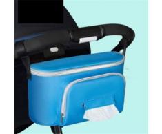 Sac de rangement poussette bébé voiture Sac maman Sac Must-Have pour bébé voiture Kiliaadk704 - Boite de rangement