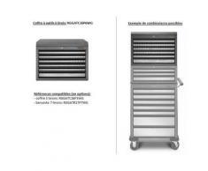 Coffre À Outils 6 Tiroirs - Acier Soudé - Série Premier (Déjà Assemblée) - Rangement de l'atelier