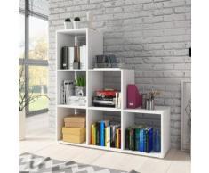 CASSI - Étagère escalier blanc - Bibliothèques