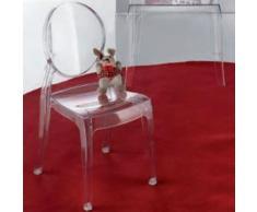 Chaise enfant design ADRIA (lot de 4) - L 28 x P 35 x H 63 cm - Chaise