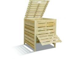 Composteur Bois 800 L BURGER - Composteurs et accessoires compostage