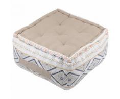Epais coussin de sol en coton ORYLIA 40 cm - Textile séjour