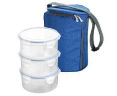 tescoma sac à repas isotherme et 3 boîtes fraîcheur 0,8 l - Poubelle